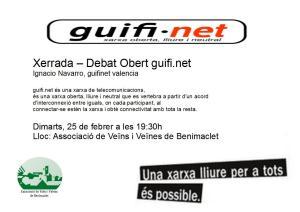 2013.02.25 xerrada debat obert guifinet