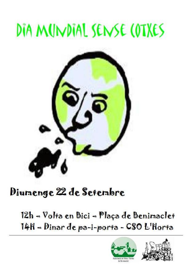 2013.09.22 dia mundial sense cotxe a benimaclet