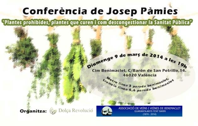 Conferencia Josep Pamies
